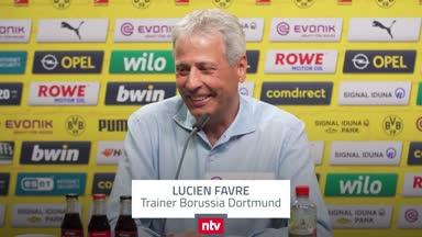 """Favre lacht BVB-Fauxpas weg: """"Kann nicht alles kontrollieren"""""""