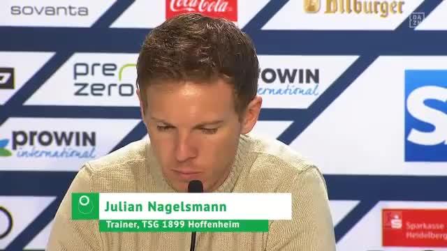 """Nach 2:1: Nagelsmann freut """"glücklicher Moment"""""""