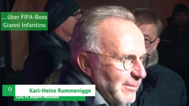 Rummenigge über Infantino, Causa Ribéry und Davies