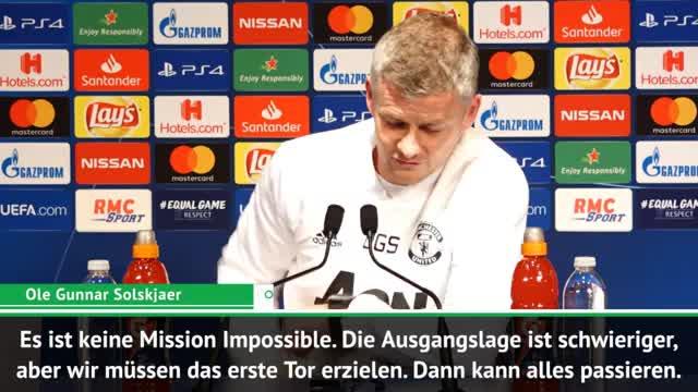 """Solskjaer vor PSG: """"Keine Mission Impossible"""""""