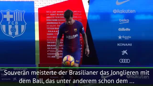 Nicht wie Dembele: Coutinho jongliert souverän