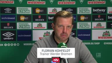 Kohfeldt sieht Bremen in allen Belangen besser als Mainz