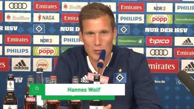 """Wolfs erste HSV-Worte: """"Feuer ist zu 100% da"""""""