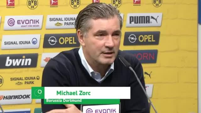 """Zorc zu Spurs: """"Etwa auf Augenhöhe"""""""