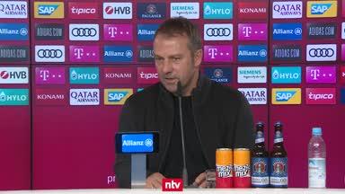Das sagt Hansi Flick vor dem Pokalspiel in Kiel