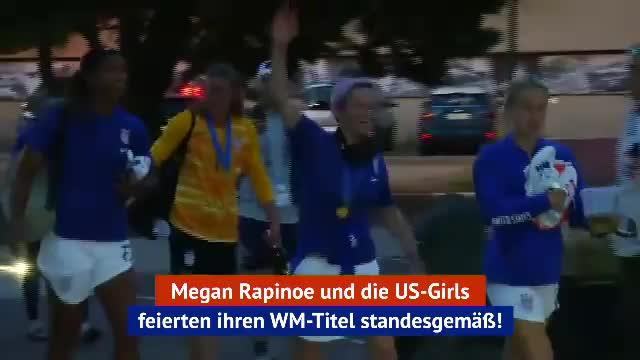 Partytime! US-Girls feiern vierten Stern