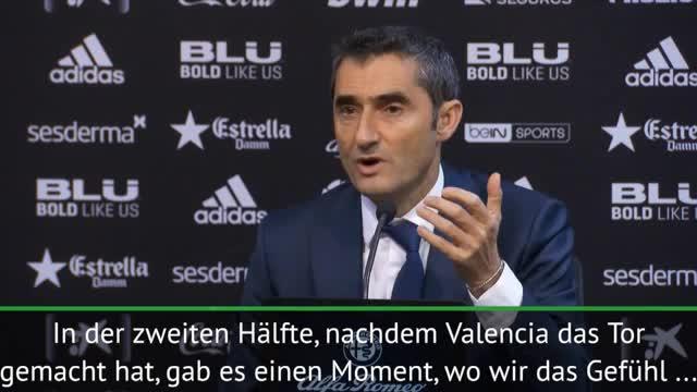 """Valverde trotz Remis: """"Haben Punkt gewonnen"""""""