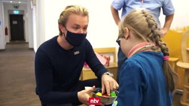 Spendenmarathon: Rosberg unterstützt Kinder-Hospiz