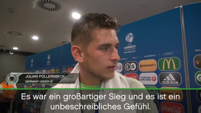 """U21-EM: Pollersbeck: """"Muss Musik lauter machen"""""""