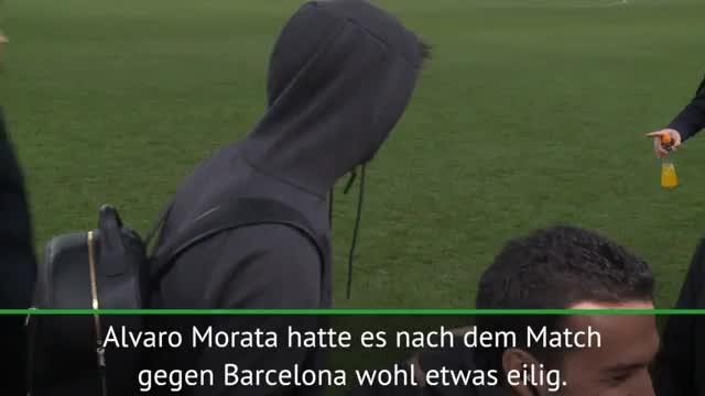 Schlüsseldieb! Morata beklaut Kollege Pedro