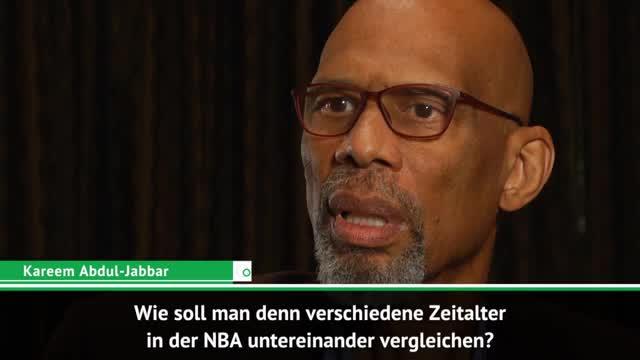Kareem plädiert: NBA-Ären nicht vergleichbar