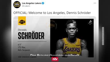 Fix! Dennis Schröder wechselt zum NBA-Champion