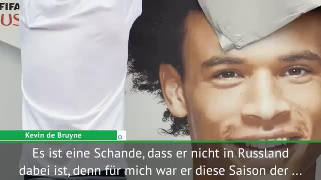 """De Bruyne: Sane-Ausbootung """"eine Schande"""""""