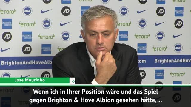 Nach Niederlage: Mourinho verweigert Analyse