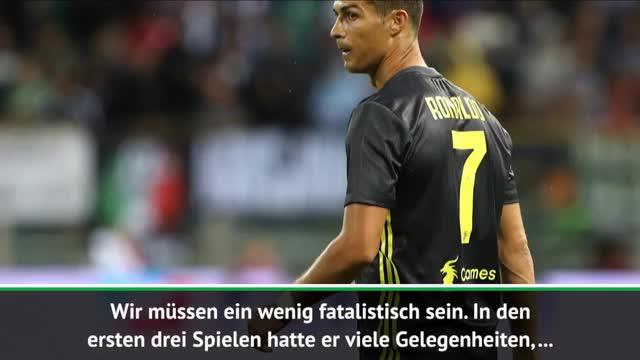 Allegri zuversichtlich: Ronaldo wird treffen