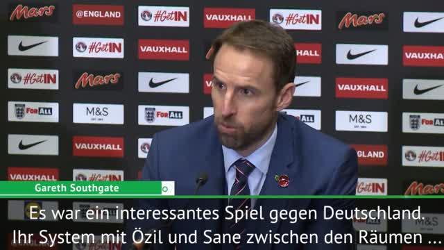 Southgate hebt Özil und Sané heraus