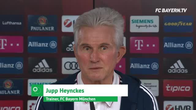 Heynckes erhofft sich durch Coman Real-Zustände