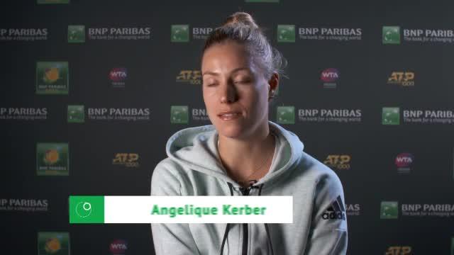 """Indian Wells: Kerber happy: """"Etwas Besonderes"""""""