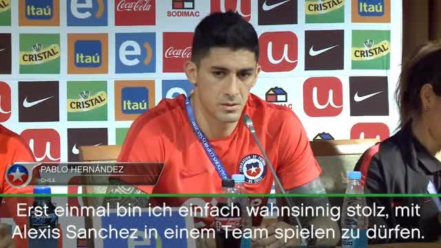 Confed Cup: Hernandez lobt DFB-Schreck Sanchez