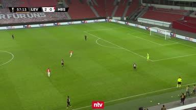 Vier Tore, ein Albtraum-Pass und der nächste Sieg für Leverkusen