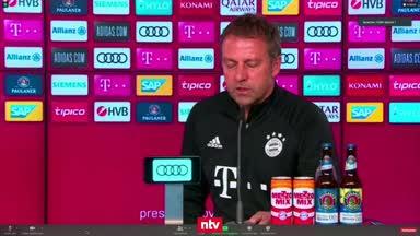 Flick reagiert auf Corona-Flut beim FC Bayern