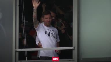 So verlief die Messi-Mania an der Seine
