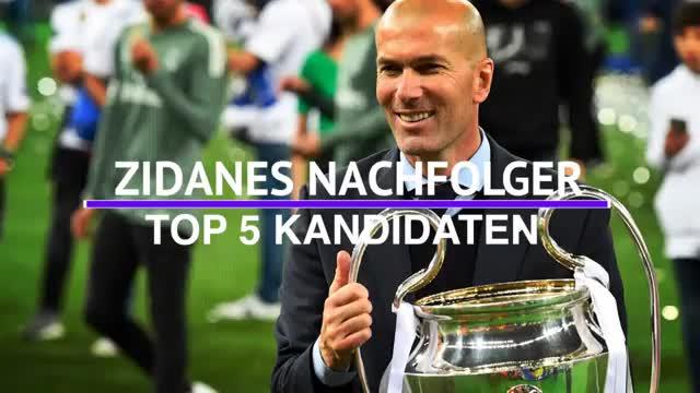 Die Top-Kandidaten auf die Zidane-Nachfolge bei Real