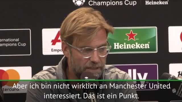 Zoff! Klopp kontert Mourinhos Liverpool-Kritik