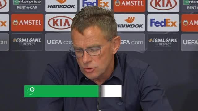 """Rangnick vor Salzburg: """"Spiel gegen sich selbst"""""""