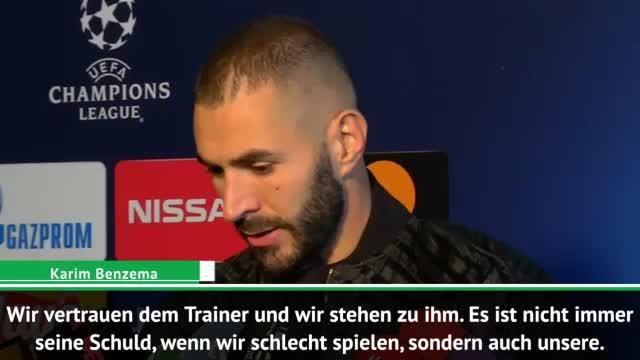"""Benzema: """"Spieler stehen hinter Lopetegui"""""""