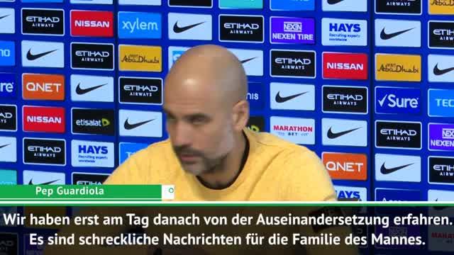 """Pep über verletzten Fan: """"Schlimme Nachrichten"""""""