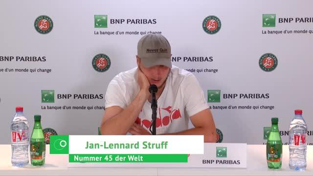 """Struff schwärmt: Djokovic """"brutal guter Spieler"""""""
