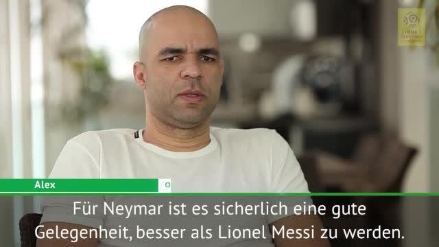 Alex: Neymars Möglichkeit, Messi zu überholen