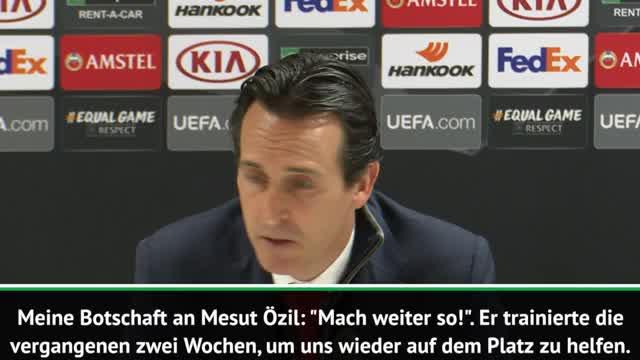 Nach Startelf-Einsatz: Emery macht Özil Mut