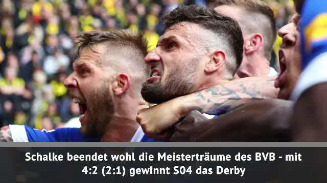 Fast Match Report: Schalke 04 schockt den BVB