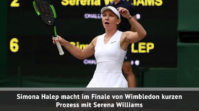 Fast Match Report: Halep gewinnt Wimbledon