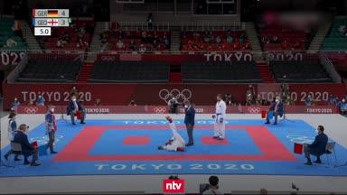 Schmerzschrei: Deutsche Karate-Hoffnung muss aufgeben!