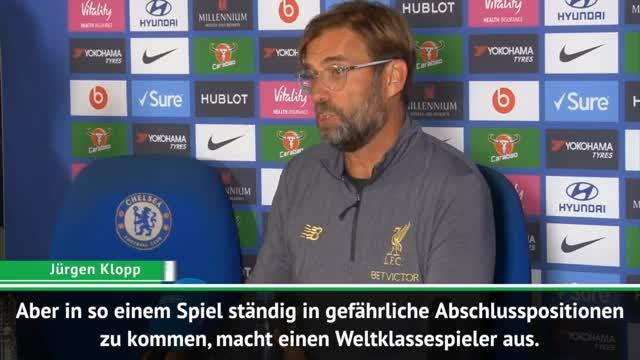 """Klopp: """"Nicht das beste Spiel von Salah"""""""