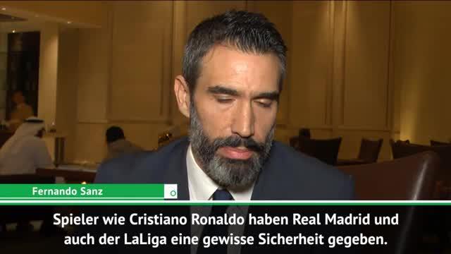 """Sanz: Ronaldos LaLiga-Abgang ist """"eine Schande"""""""