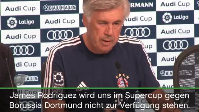 """Audi Cup: Ancelotti: """"Verstehe Pfiffe der Fans"""""""