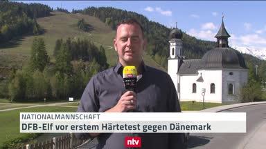 DFB-Team vor erstem Härtetest gegen Dänemark