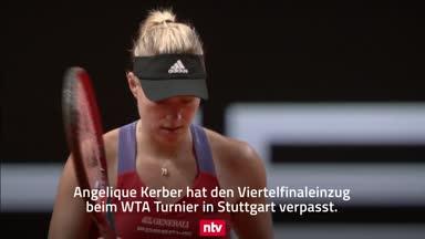 Deutsche Tennis-Damen in Stuttgart ausgeschieden
