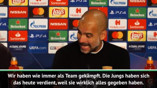 """Guardiola: Königsklasse """"kein roter Teppich"""""""
