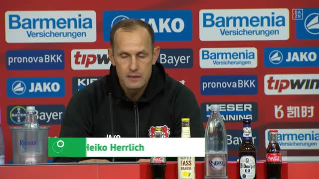 """Herrlichs Fazit: """"Haben Fußball gearbeitet"""""""