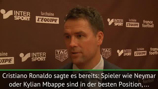 Owen: Neymar, Mbappe sind Ronaldo-Nachfolger