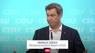 Söder unterstützt EM-Arena in Regenbogenfarben