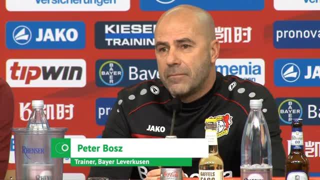 "Bosz: ""Gegen Bayern muss alles klappen"""