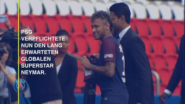 PSG mit Neymar: So könnten sie spielen