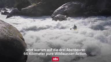 Kajak-Asse schlagen sich durch die Wildnis