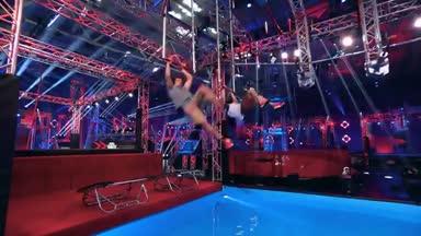 Kim Marschner überrascht an den Sprungfedern